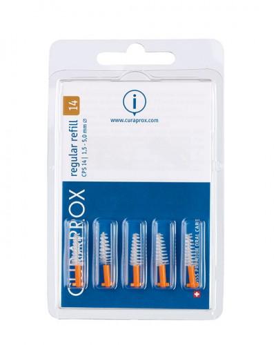 Interdental brush refill regular, size 14 c