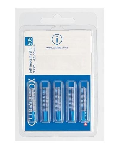 Interdental brush refill implant, 505