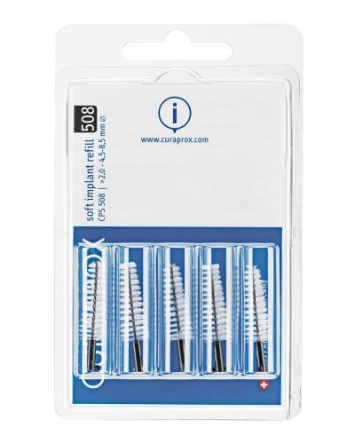 Interdental brush refill implant, 508